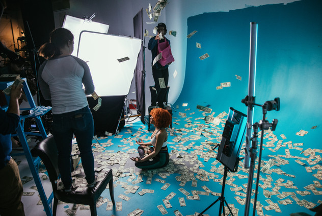 Production BTS photography