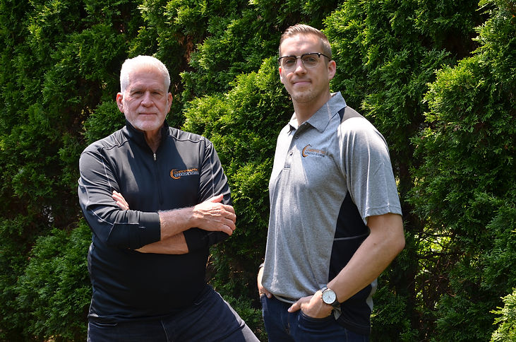 Image of Guy Riekman and Dr. Wes Patten