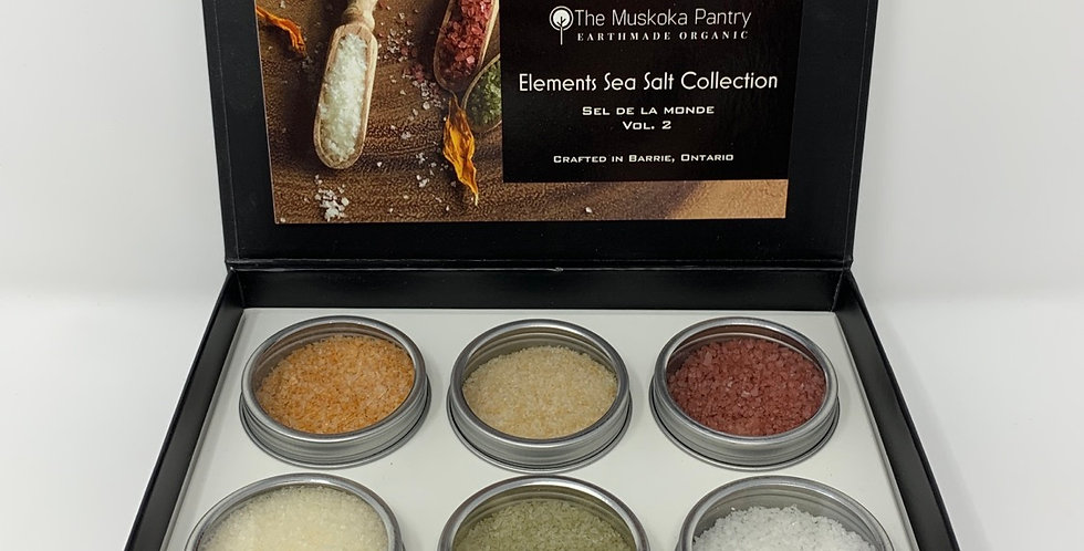 Elements Sea Salts Collection