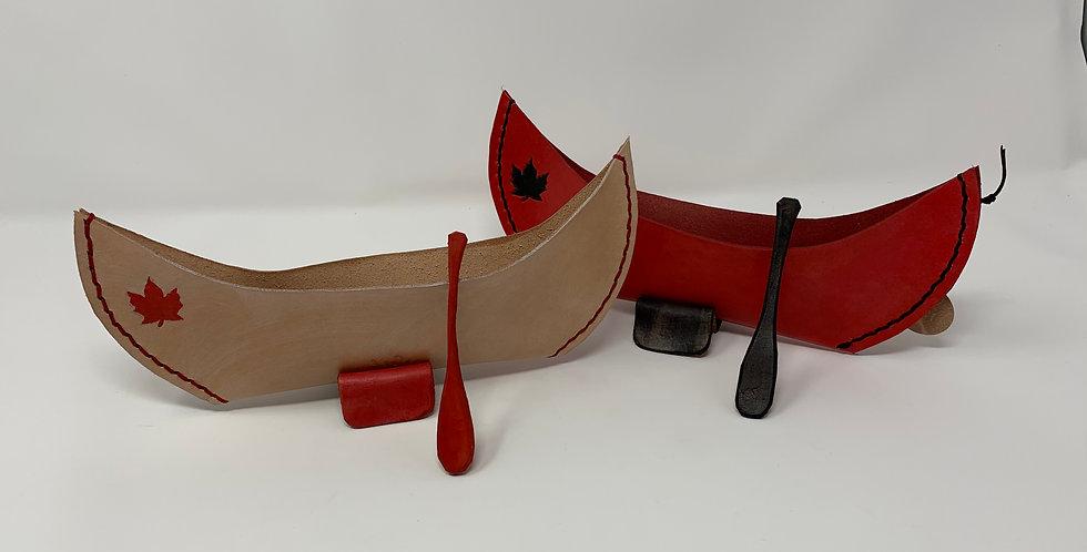 Leather Canoe