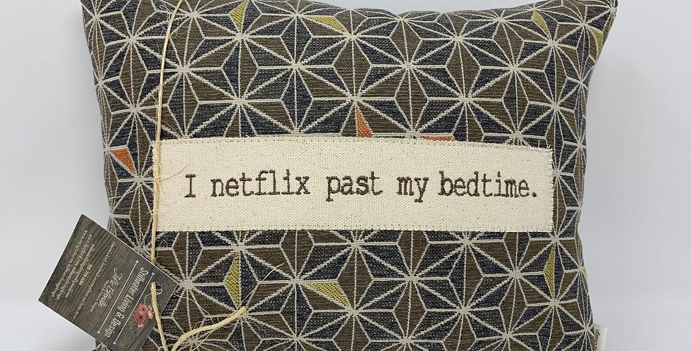 """11""""x14"""" Pillow - Netflix"""