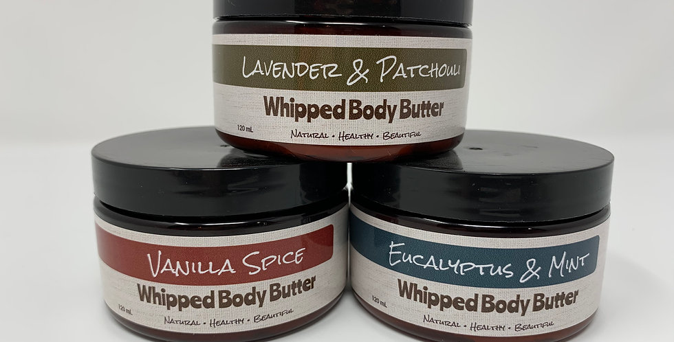 Whipped Body Butter - Various Scents 120ml