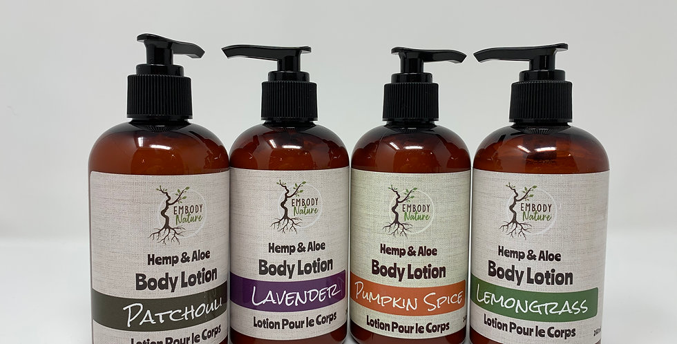 Body Lotion - Various Scents 240ml