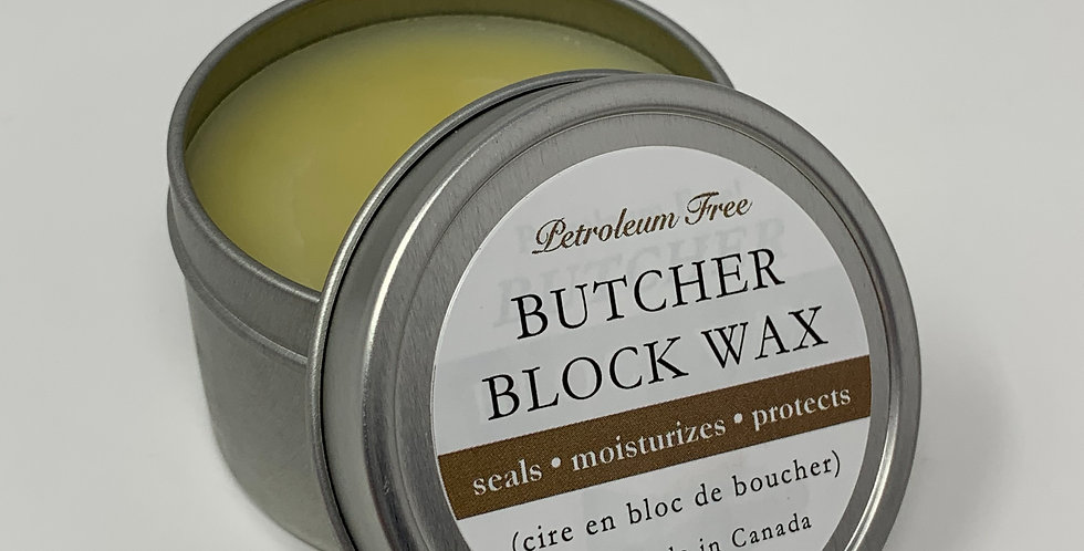 Butcher Block Wax