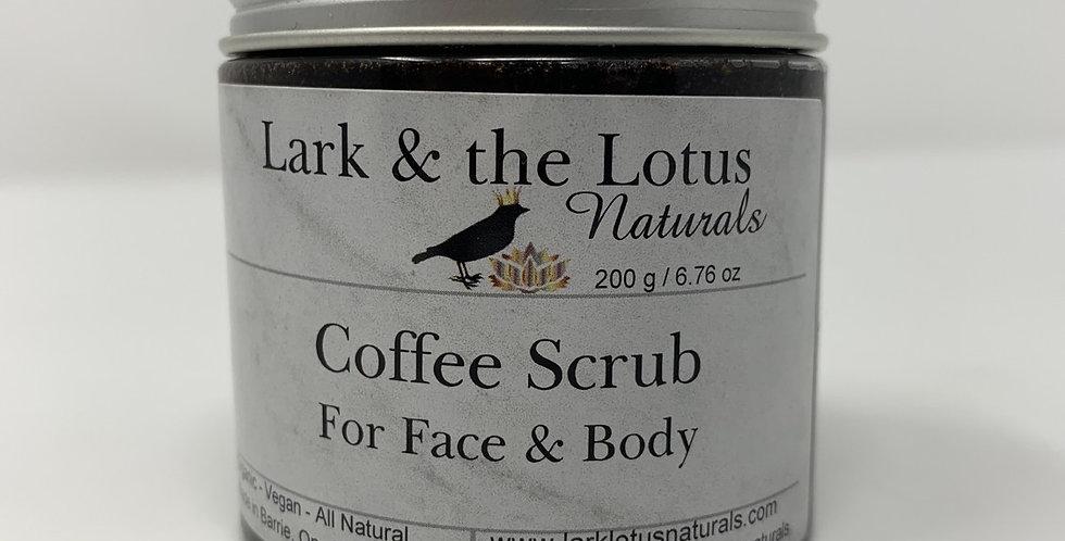 Coffee Face & Body Scrub