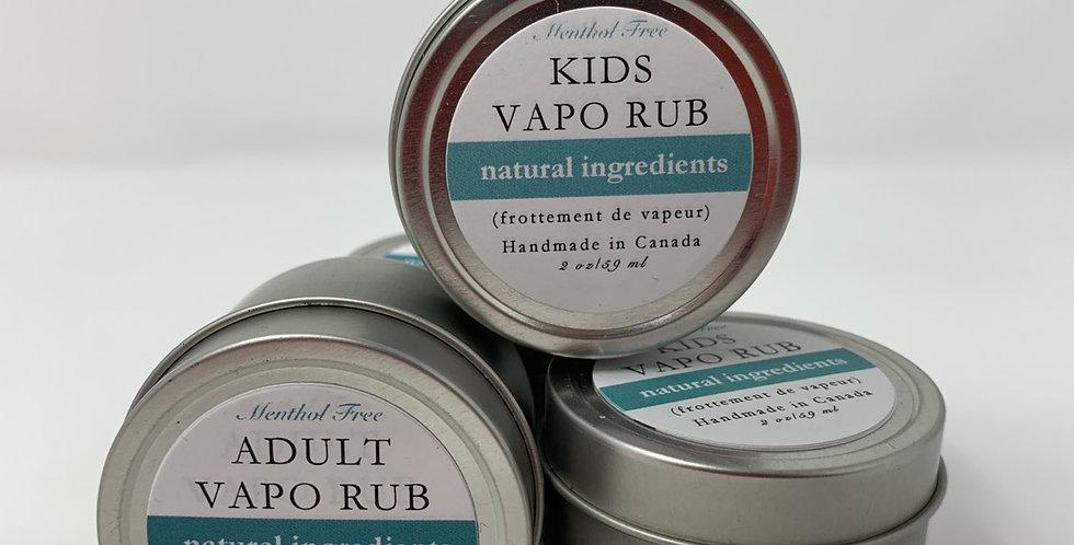 All Natural Vapo Rub - Various 2oz