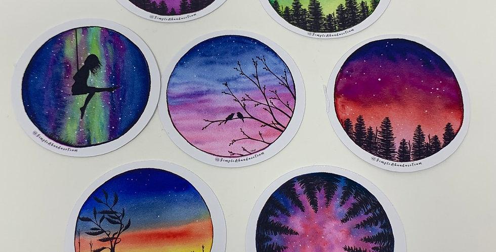 """Stickers 2"""" Round"""