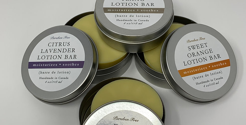 Lotion Bar - Various 118ml