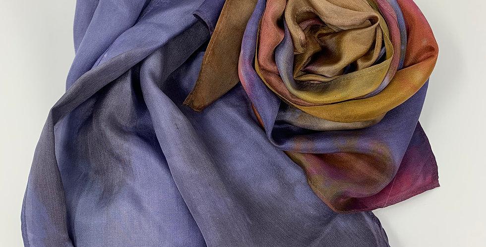 "Silk Scarf - Handpainted 8"""