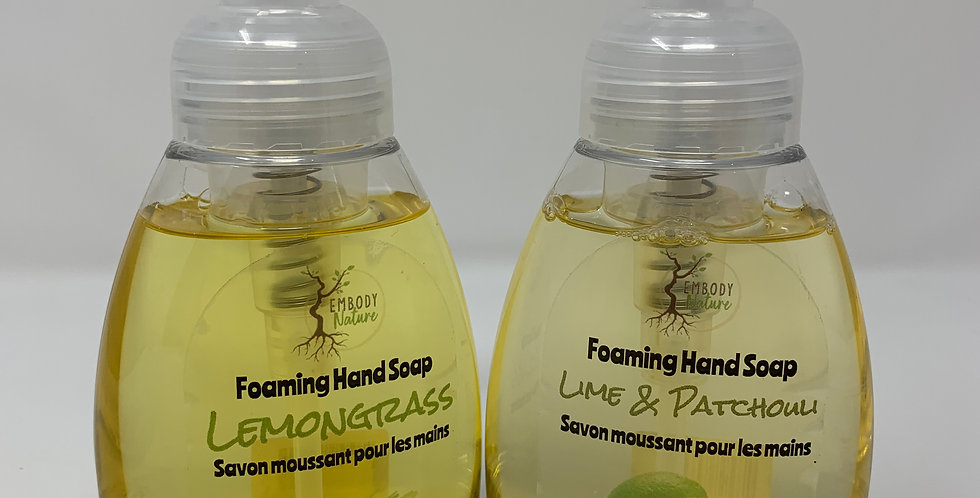Foaming Handsoap - Various Scents 240ml
