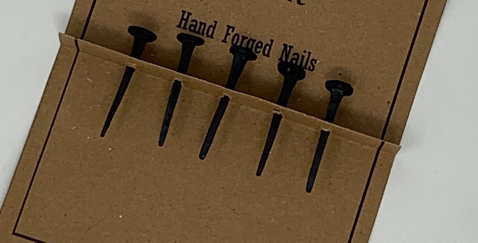 Hand Forged Nails (set of 5)