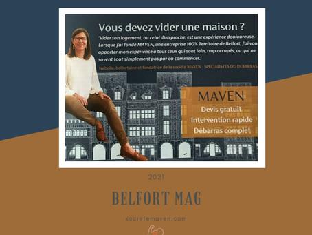 MAVEN dans le Belfort Mag