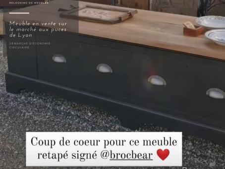 Débarras avec récupération de meubles pour les puces de Lyon