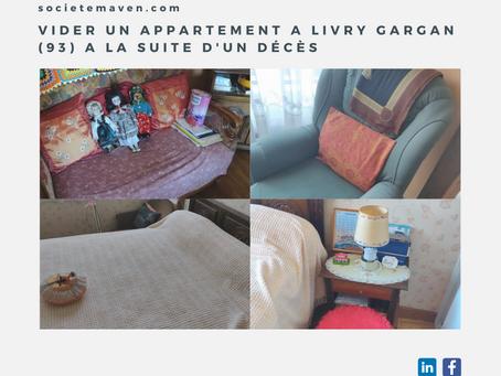 Vider un appartement à Livry Gargan (93) à la suite d'un décès