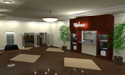 Fellowship Hall Concept Model