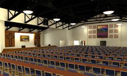 Fellowship Hall Concept Model