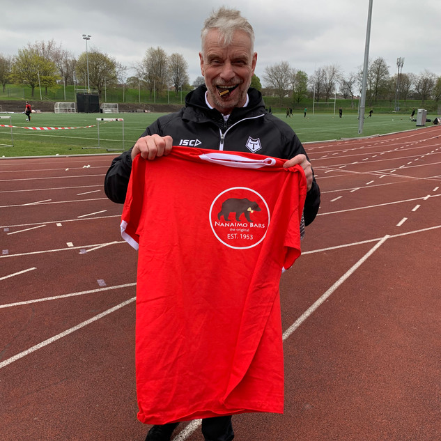 Brian Noble MBE.