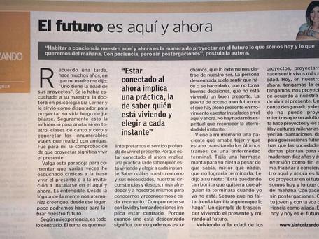 El futuro es aquí y ahora
