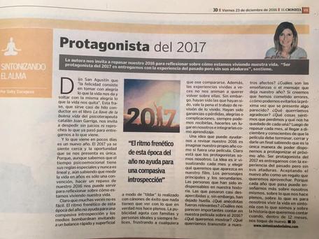 Protagonista del 2017