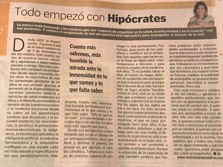 Todo empezó con Hipócrates