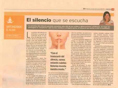 El silencio que se escucha