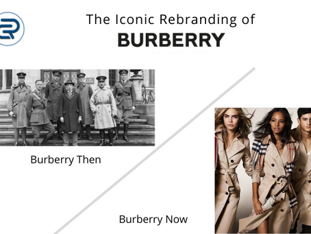 Burberry rebranding: An iconic transformation from Gangwear to Luxury clothing