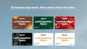 How an Airline used Infrequent flyers to its advantage?