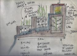 Diseño de filtro de aguas grises