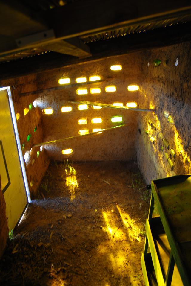Gallinero interior