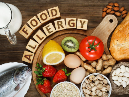 Food Allergies, Anxiety, and Allergy Moms.