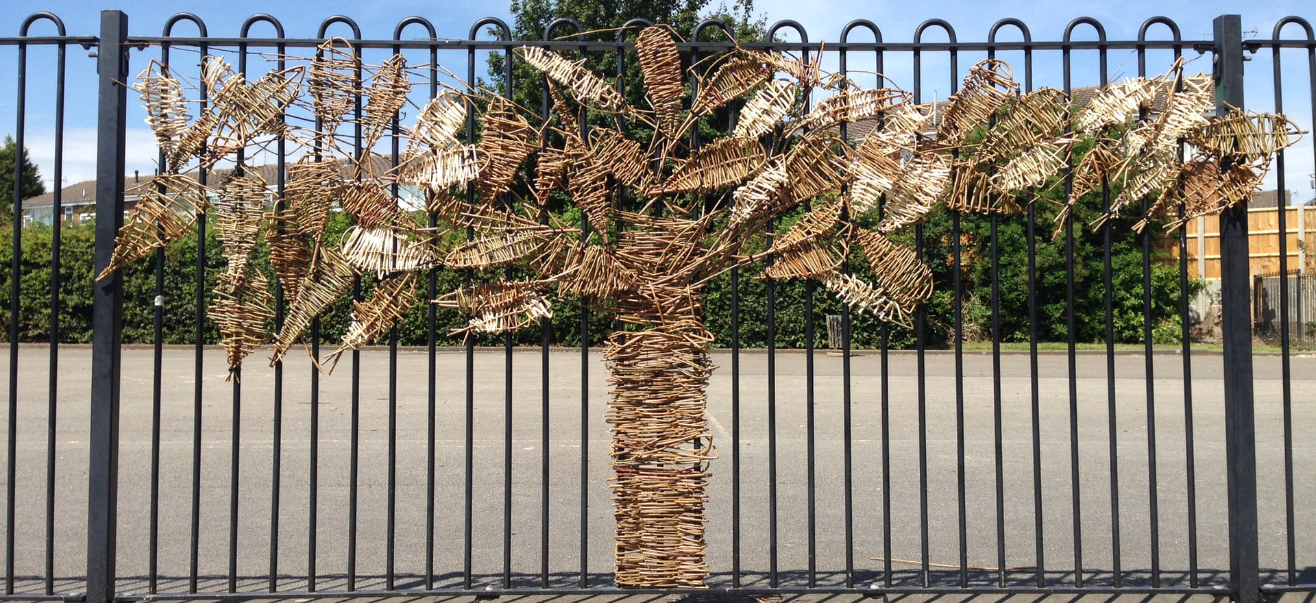 Willow Tree created by Year 6 at Camp Hill Primary School in Corby