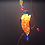 Thumbnail: Bluebird with Berries Stained Glass Suncatcher