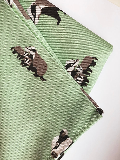 Badger Clan Tea Towel