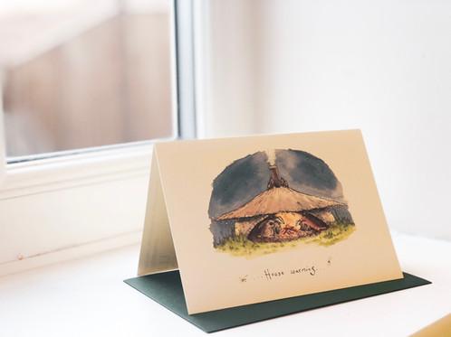 House warming greeting card m4hsunfo