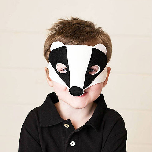 Felt Badger Mask