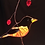 Thumbnail: Baltimore Oriole Stained Glass Suncatcher