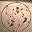 Thumbnail: Large Stained Glass Panel: 3 Hummingbirds