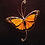 Thumbnail: Monarch Butterfly Stained Glass Suncatcher