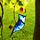 Thumbnail: Blue Jay Stained Glass Suncatcher