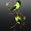 Thumbnail: Pair of Stained Glass Hummingbirds