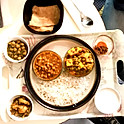 Special Vegetarian curry Thali