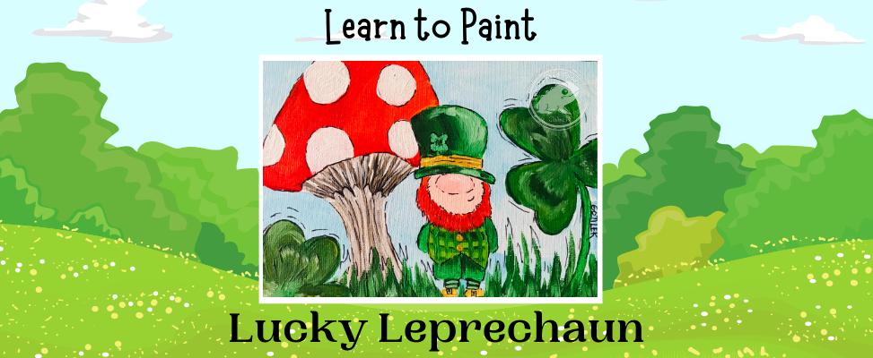Lucky Leprechauns Webside Landing Page.p