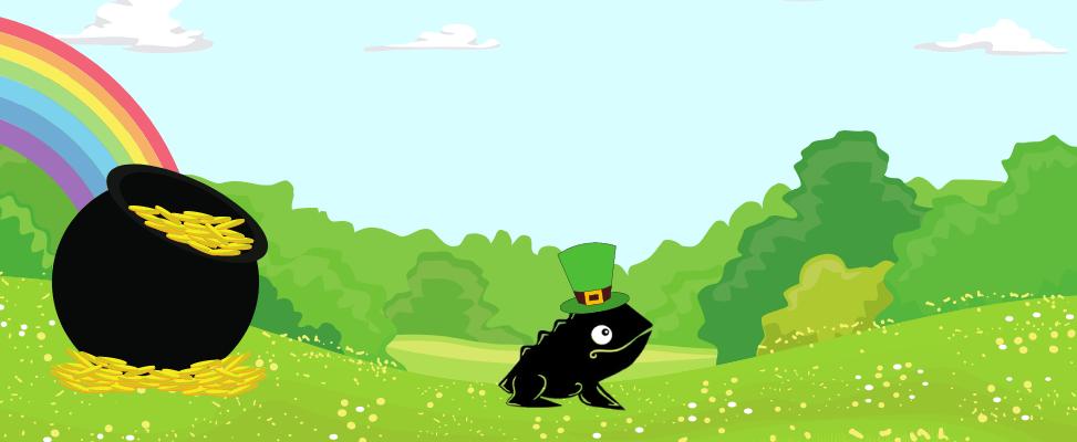 Footer Lucky Leprechauns Webside Landing