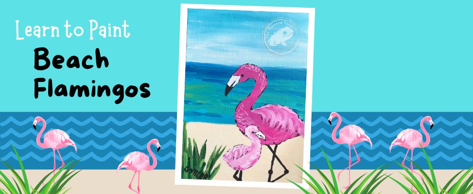 Flamingo Painting Webside Landing Page(2
