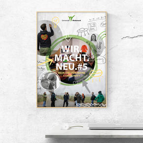 "Plakat ""# wir macht neu"""