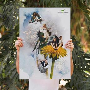 "Collage ""Grüne Festivals"""
