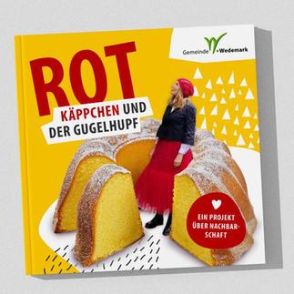 """Satz und Grafik """"Rotkäppchen und der Gugelhupf"""""""