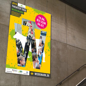 """Flyer, Plakate & Banner """"Theater Tage Wedemark"""""""