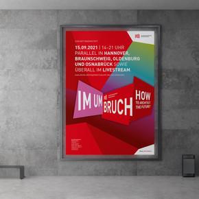 """Plakat für Kongress """"Im Umbruch"""""""