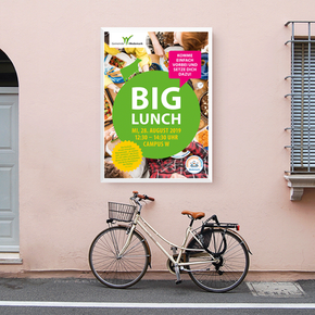 "Plakat ""Big Lunch"""